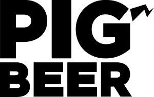 pig beer logo